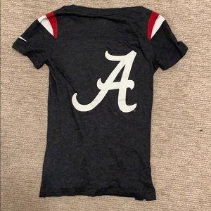 Nike Tops - university of alabama t-shirt